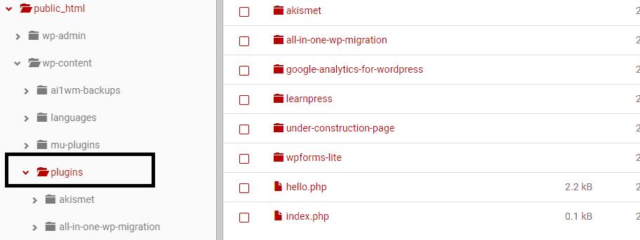 Culprit Plugin in WordPress
