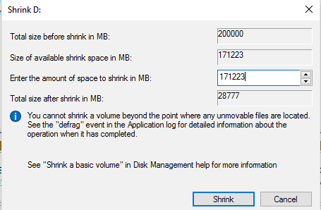 Extend drive C partition Without losing data