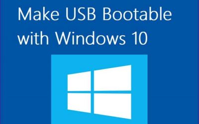 How to Install Windows 10 using a bootable USB Drive?