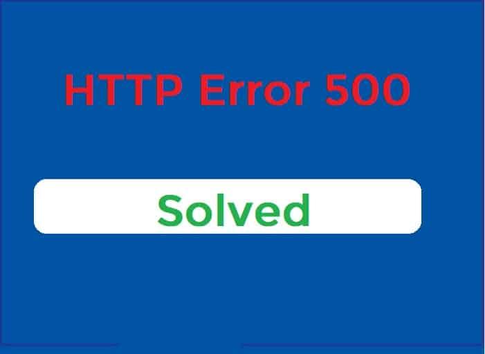 How to Fix 500 Internal Server Error in WordPress?