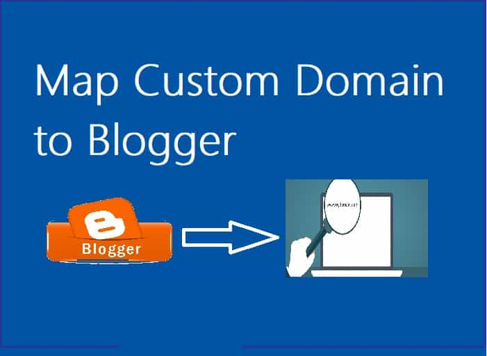 How to map a custom domain to BlogSpot