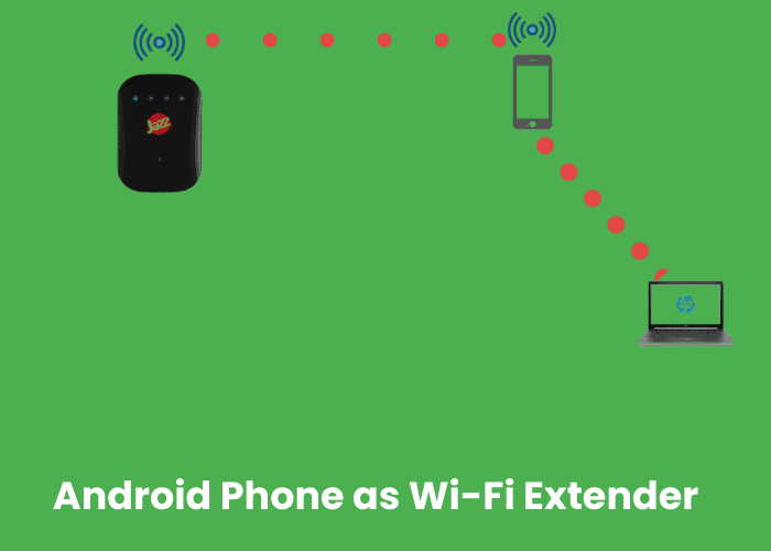 How to turn your android phone to Wi-Fi extender (Repeater)?