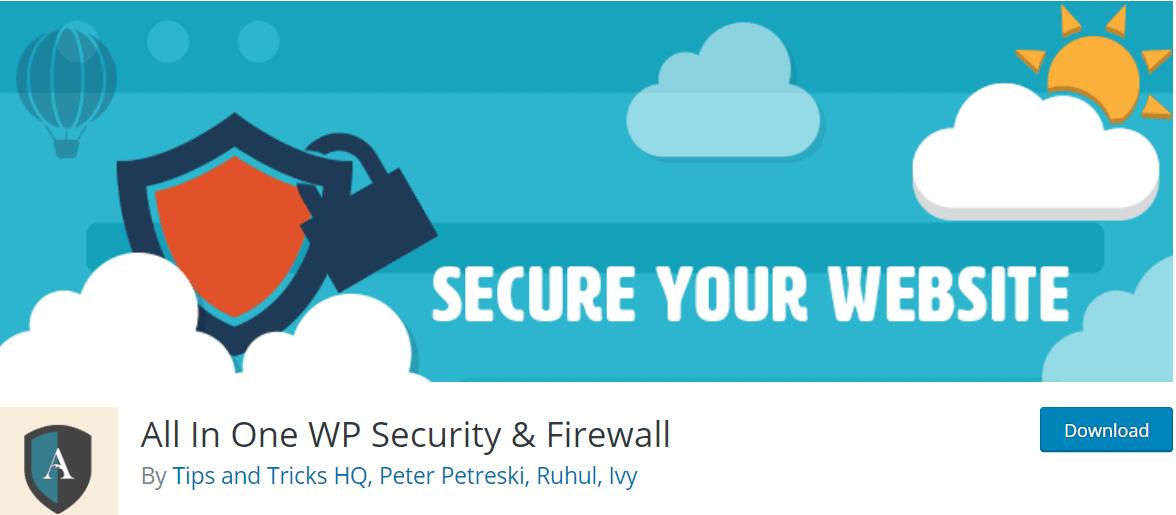 Must-have WordPress Security Plugin