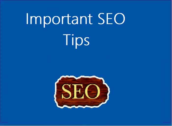 What are the SEO tips that improve ranking?