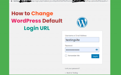 How to change the wp-admin URL?
