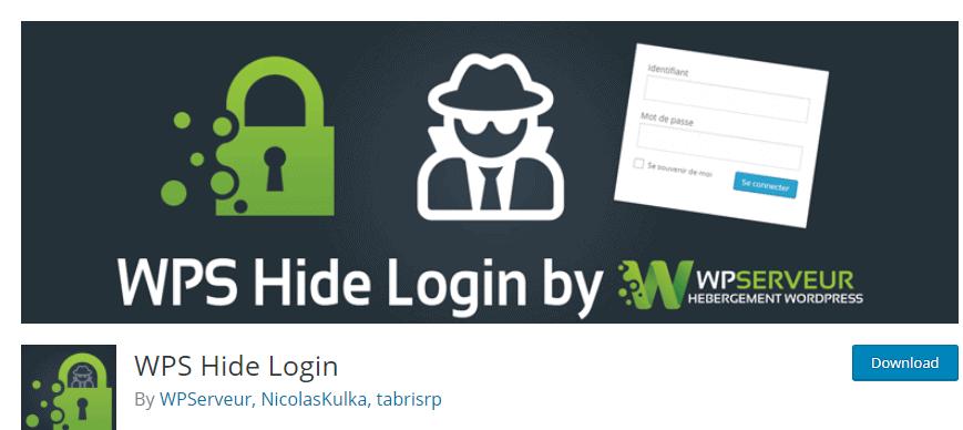 WPS login hide